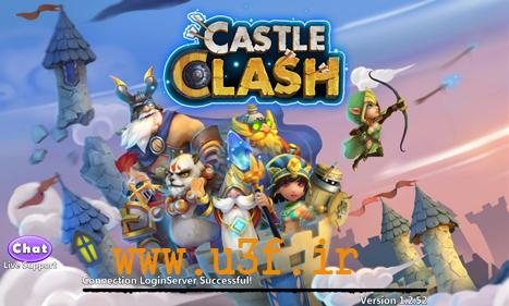 همه چی در مورد بازی آنلاین castle clash